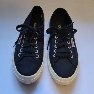 Superga Platform Canvas Sneakers Size 39